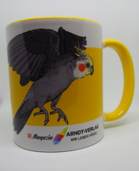 "Kaffeetasse ""Nymphensittich"""