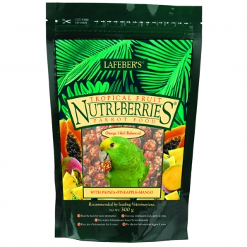 Lafeber Nutri-Berries Tropical Fruit für Papageien/ Amazonen .... 300gr - MHD 12/2019